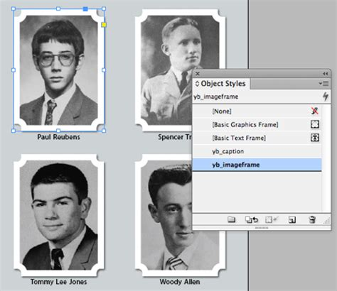 Indesign Tutorial Yearbook | creating a contact sheet or yearbook page in indesign