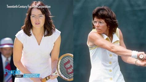 emma stone tennis film emma stone stuns at toronto premiere of battle of the