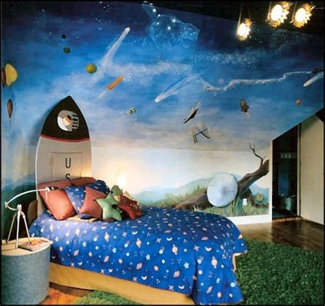 Outer Space Bedroom Decor | decorating theme bedrooms maries manor outer space
