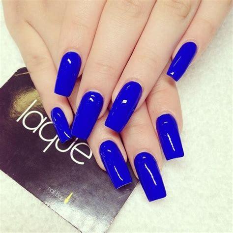 imagenes de uñas acrilicas azul rey unas color azul rey 7 curso de organizacion del hogar