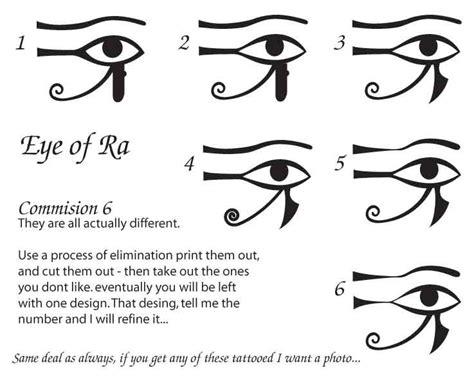 résumé meaning commish eye of ra by wynnter89 on deviantart tattoos