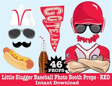 printable baseball photo booth props 72 best simplyeverydayme photo booth props images on