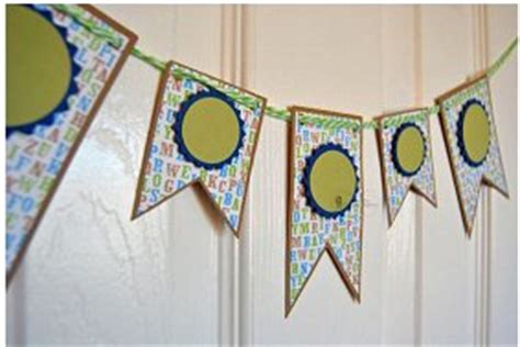 How To Make A Paper Banner - celebration paper banners favecrafts