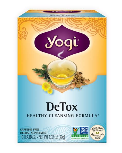 Time For Another Sesion Of Detox With D Talks detox yogi tea