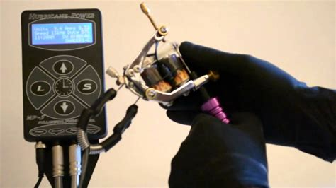 tattoo machine keeps stopping fredimix tattoo machine tool mode de reglage youtube