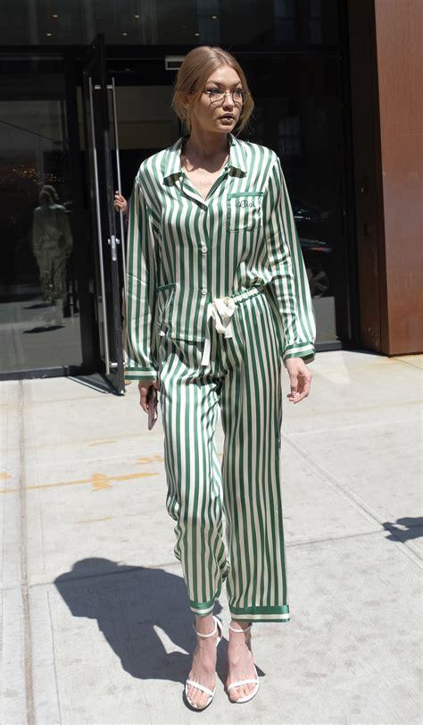 17 best on trend pajamas pj trend 17 looking chic in their pajamas jetss