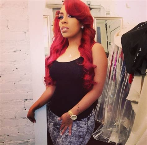 love and hip hop atlanta kmichelle argues with kirk k michelle blasts love hip hop atlanta cast celebnmusic247