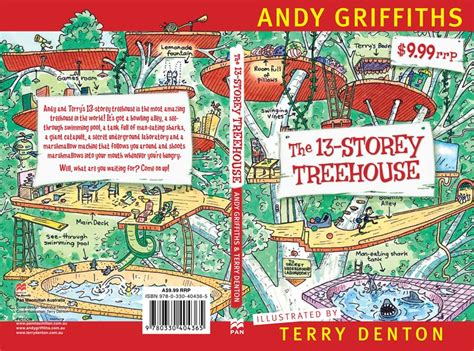 Story Treehouse Book - brona s books the 13 storey treehouse by andy griffiths and terry denton