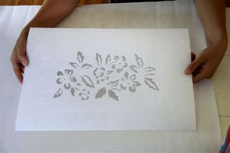 Handmade Stencils - diy stenciling alabama chanin journal