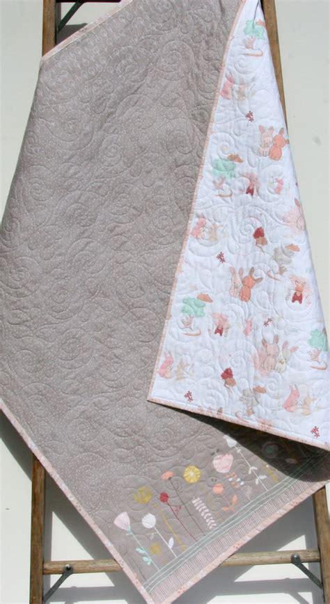 sale baby quilt girl bedding littlest blanket baby bedding