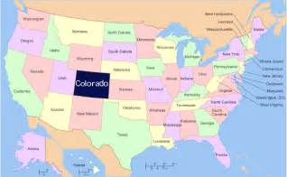 colorado map usa pictures to pin on pinsdaddy