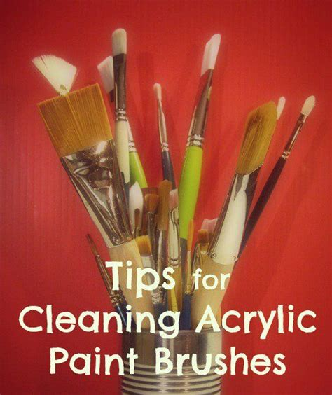 acrylic paint brush techniques best 25 acrylic paint brushes ideas on