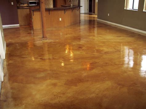stained cement floors     chemical staining concrete