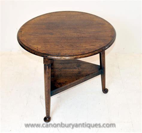 Farmhouse Side Table Oak Farmhouse Cricket Table Side Tables