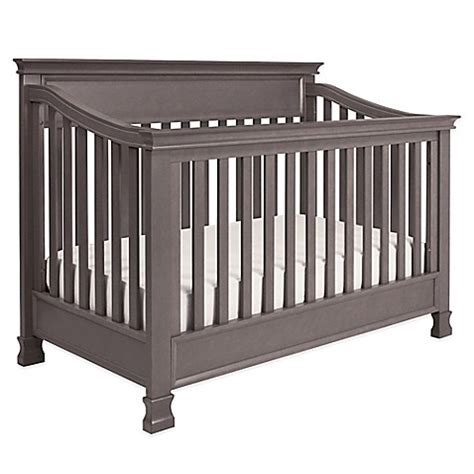 Million Dollar Baby Crib Mattress Million Dollar Baby Classic Foothill 4 In 1 Convertible Crib In Weathered Grey Bed Bath Beyond
