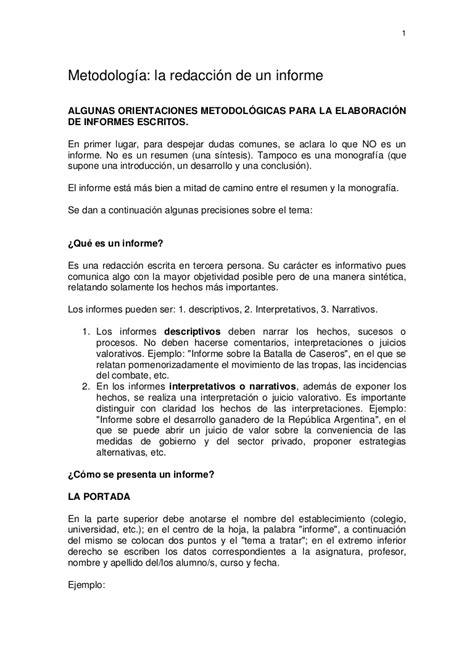 preguntas para entrevista trabajo soporte tecnico metodolog 237 a para la elaboraci 243 n de un informe