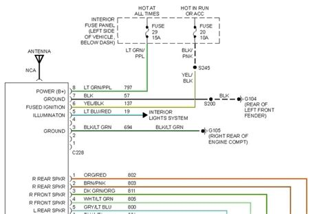2002 ford expedition stereo wiring diagram fuse box and