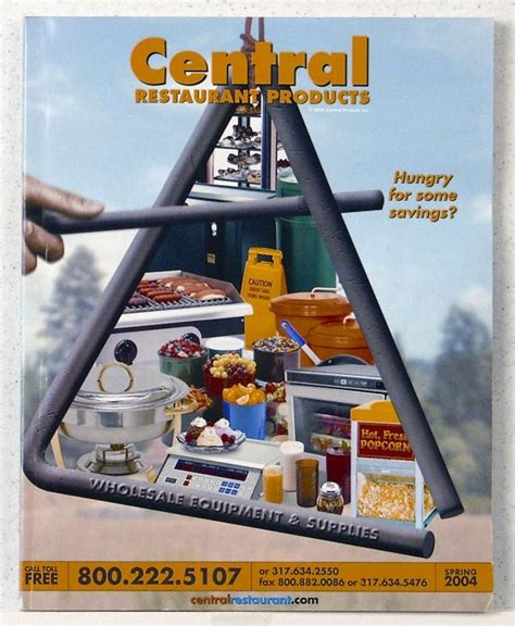 central restaurant products 2004 catalog central