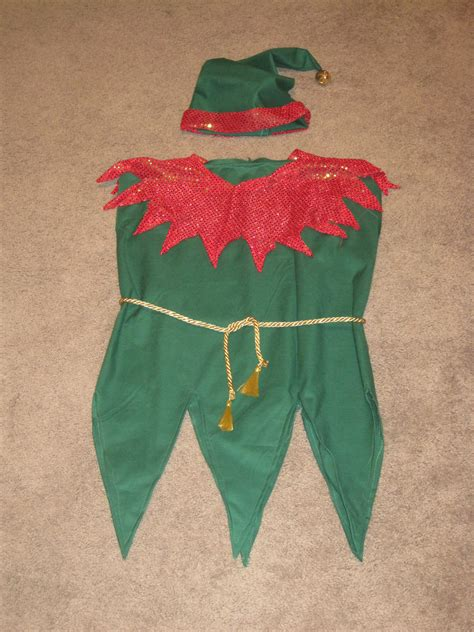 pattern for elf clothes elf costume i made no pattern though tis the season