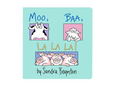libro moo baa la la moo baa la la la by sandra boynton basic baby co