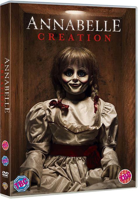 annabelle doll dvd horror sequel annabelle creation on dvd