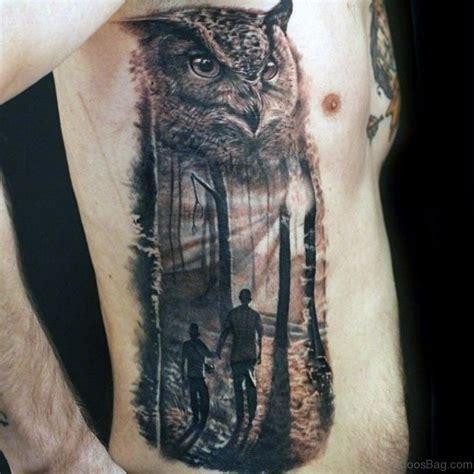 owl tattoo rib cage 47 mind blowing owl tattoos on rib