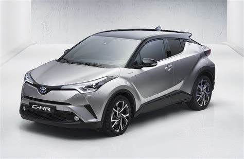 toyota new c hr toyota c hr production compact suv leaks out early
