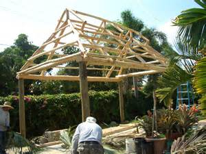 Tiki Hut Thatch Roofing Tiki Huts Thatch Roof New Tikihut Construction