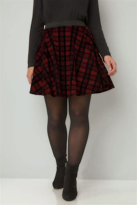Murah Widea Washed Premium Skirt Rok Size Jumbo limited collection dunkel rot kariert mini skater rock in gro 223 en gr 246 223 en 44 64