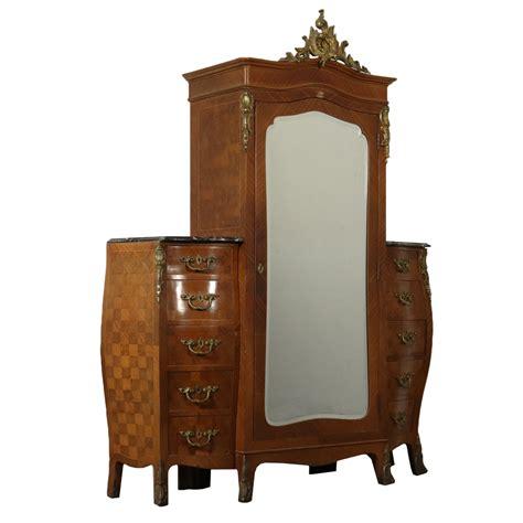 cassettiera armadio armadio con cassettiera barocchetto bottega 900