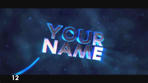 Top 20 Best 3d Intro Templates Sony Vegas Pro 11 12 13 Youtube Free Sony Vegas Intro Templates