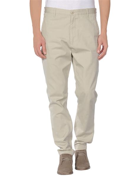 mens light grey sweatpants dockers casual pants in gray for men light grey lyst