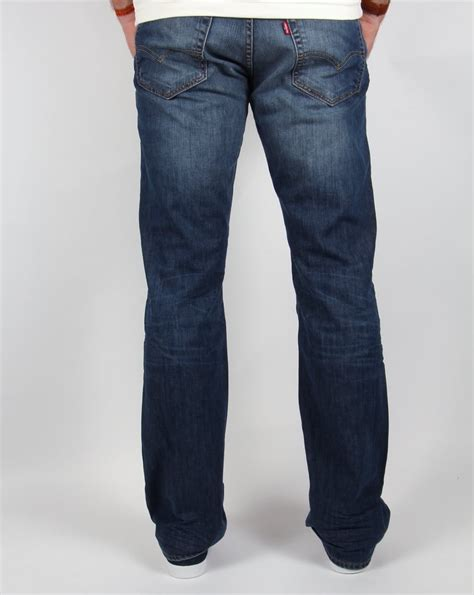 Kickers Boots Mid Cut levis 527 slim boot cut mostly mid blue