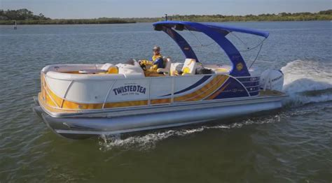 Twisted Tea Sweepstakes - win a custom pontoon 62 000 value what is your dream lake