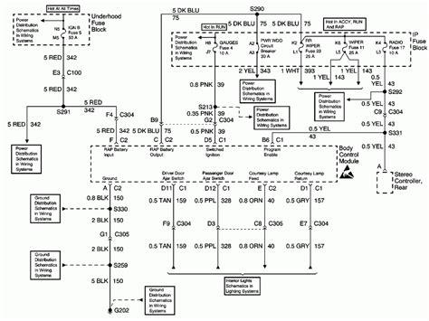 chevy silverado window wiring diagram get free image