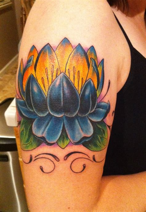 blue lotus flower tattoo lotus tattoos designs ideas and meaning tattoos for you