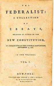 Federalism Essay by Federalist Papers
