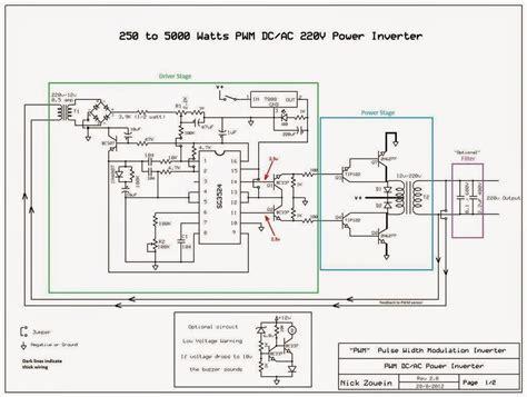 watts pwm dcac  power inverter gallery