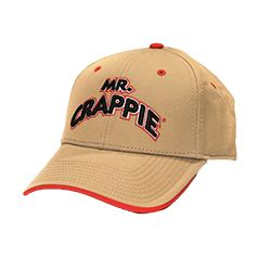 grizzly jig company  crappie embroidered cap