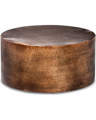 hammered copper table l memorial day shopping deals on granby hammered barrel