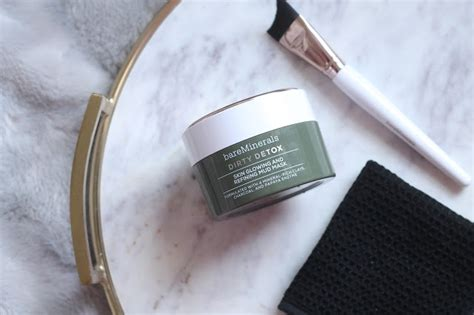 Bare Minerals Detox Mud Mask by Bareminerals Detox Mud Mask At The Pink Of Perfection