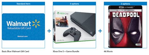 Walmart Xbox Gift Card - xbox one s bundle with 50 walmart gift card only 249 shipped ftm
