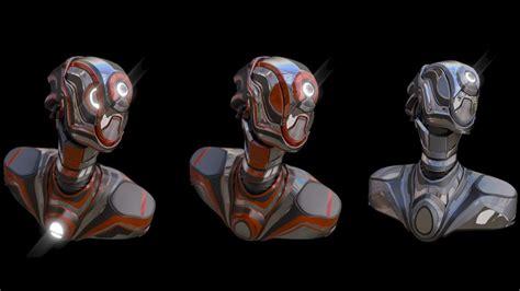 Blender 3d Robot Tutorial | modeling robot in blender tutorial