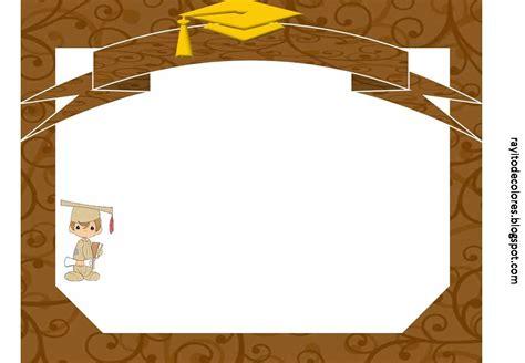 graduacion marcos y bordes de graduacion rayito de colores diplomas de graduaci 243 n