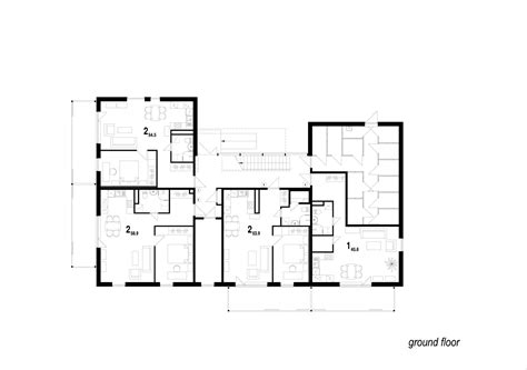 residential floor plans with dimensions simple floor plan
