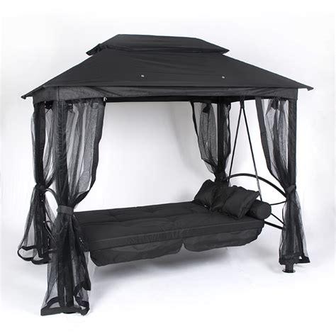 luxor swing seat customer reviews for ellister luxor swing seat gazebo black