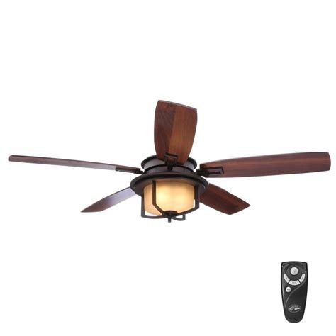 rubbed bronze ceiling fan light kit hton bay devereaux ii 52 in indoor oil rubbed bronze
