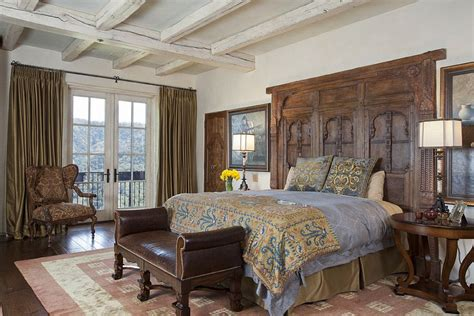 Mediterranean Style Bedroom by 30 Ingenious Wooden Headboard Ideas For A Trendy Bedroom