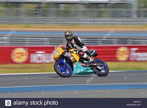 Honda Motorrad Thailand by Buriram Thailand 4 Dezember 2016 Pitin Timaporn Mit