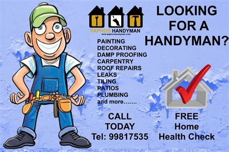 handyman flyer template images